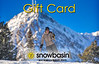 Snowbasin Gift Card Skiier Groomer