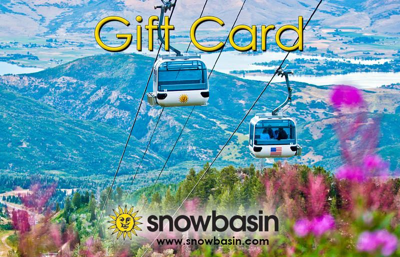 Snowbasin Gift Card Gondola Summer