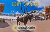 Snowbasin Gift Card Moose