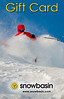 Snowbasin Gift Card Vertical JP Powder Red