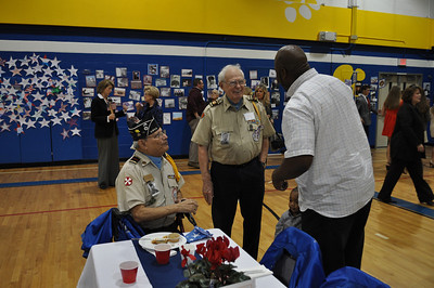 2012 Veterans Day Spring Forest Middle