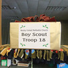 "Our own Scout troop was one of the ""gifts"" to which shoppers could give a gift on behalf of a gift recipient."