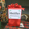 The Heifer gifts were aptly named - a Spitting Llama, Six geese a laying, etc.