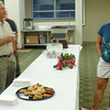 Modest refreshments were served the guests who came to see and hear Lianne on Wednesday evening.