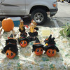 Thanksgiving and pumpkins were also a recurring theme at this market.