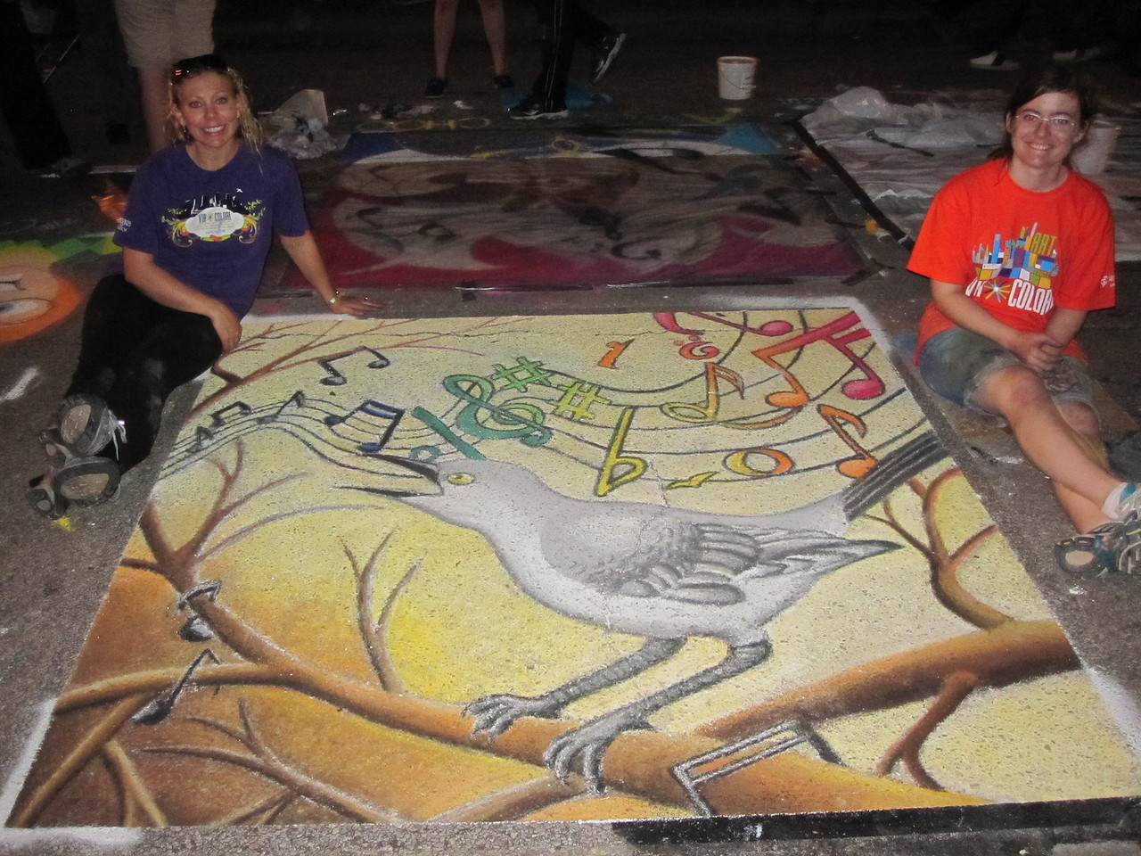 Via Colori Street Painting Artists