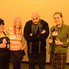 Agnes, Edith, Gru, and Margo
