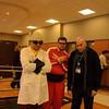 Dr. Nefario, Vector, and Gru