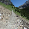 Trail heading to the Ptarmigan Tunnel
