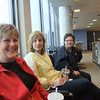 Deb, Sarah and Kaye, all veterans of previous trips, are ready to go.