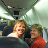Kristie and Deb, mission buddies on previous trips, are reunited.