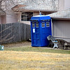 The TARDIS landed in northwest Omaha during 2013.  I always wondered what it would be like to be a companion on Dr. Who...