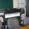 I didn't ask what this was.  Impressive looking, though, isn't it?  It looks like some type of large sheet-fed printer.