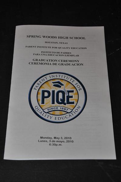 PIQE Parent Graduation