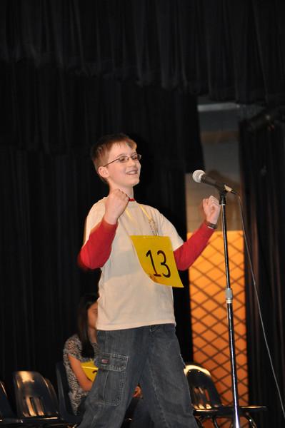 Spelling Bee Contest held at Spring Woods High School