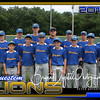 Bluestem Lions 14U Baseball Team Picture