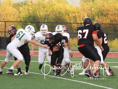 JV Football vs Mulvane