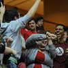 Fans having fun during in an NCAA basketball game between UNCG Spartans and the College of Charleston Cougars, Saturday Feb 2, 2013 at TD Arena. (Shane Roper/Special to The Post and Courier)