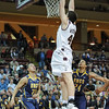 Charleston Cougars forward TRENT WIEDEMAN (44) dunks the ball in an NCAA basketball game between UNCG Spartans and the College of Charleston Cougars, Saturday Feb 2, 2013 at TD Arena. (Shane Roper/Special to The Post and Courier)