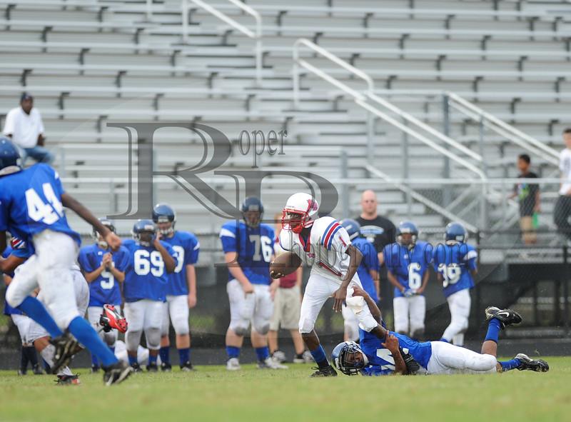 Fort Dorchester B Team vs Cane Bay, 30 Aug 2012 by Shane Roper