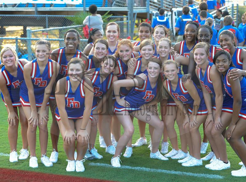 Fort Dorchester Varsity Cheerleaders, 31 Aug 2012-Copyright Roper Photography