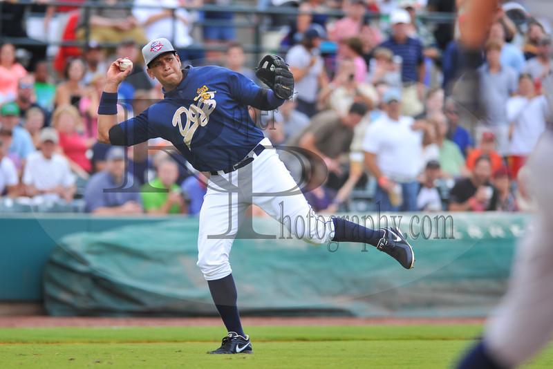 MILB Baseball 2013 - Rome Braves vs Charleston River Dogs