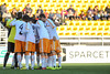 Houston Dynamo huddle prior to the match during an MLS exhibition between the Chicago Fire and the Houston Dynamo during opening night of the Carolina Challenge Cup at Blackbaud Stadium.