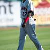 Hickory Crawdads shortstop Michael De Leon (37)