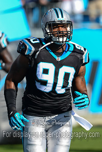 NFL Football 2013 - Tampa Bay Buccaneers vs Carolina Panthers