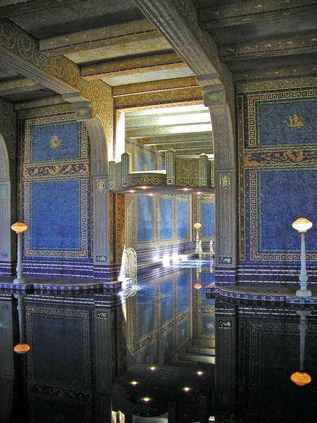 Indoor pool at the Hearst Castle