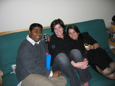 Marky, Kristy and I at his birthday Party