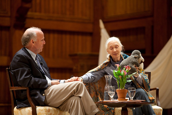 An Evening with Jane Goodall at the Sanders Theatre May 3, 2010