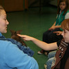 RWPZoo Educator, Lauren Hytinen with Vincent the Wallaby