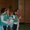 Girl Scout Troop 350 talks about their Roots & Shoots group projects