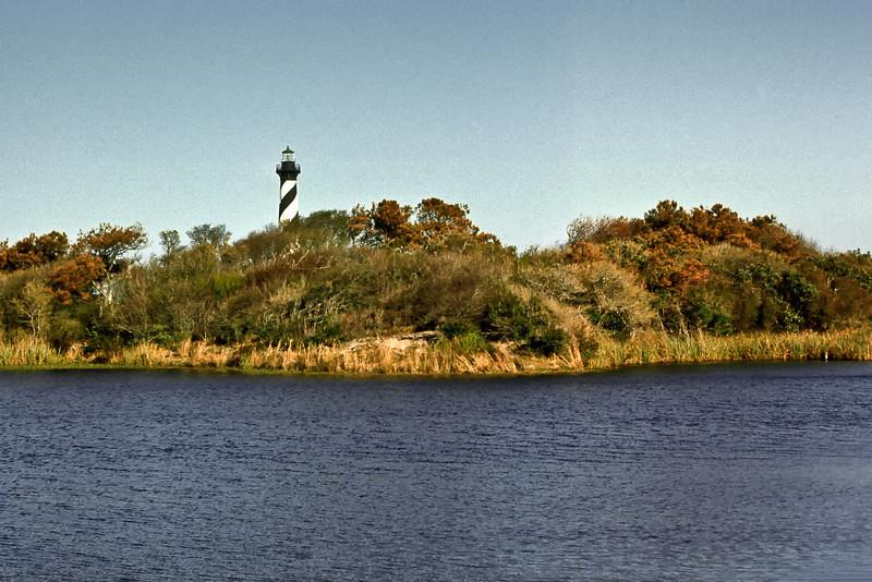 Cape Hatteras Lighthouse. April 1971.