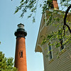 Currituck Lighthouse. May 1985.