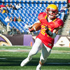 Calvert Hall senior Stephen Kelly (24) runs the ball during the third quarter of the 93rd annual Turkey Bowl.