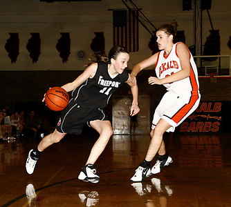 Chronicle photo CURTIS CLEGG DeKalb #22 Freeport #11