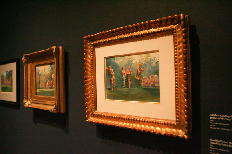 Exhibit opening of 'John La Farge's Second Paradise: Voyages in the South Seas, 1890–1891' at the Addison Gallery. (J. Qu)
