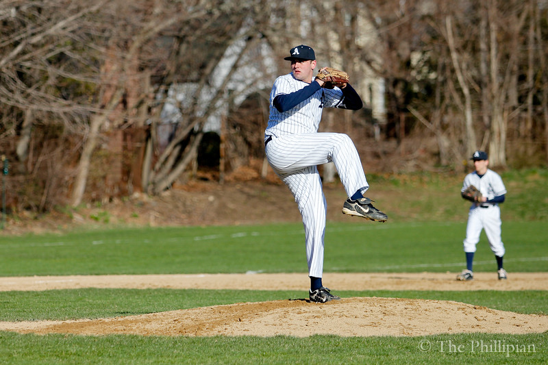 Boys Varsity Baseball competed against Belmont Hill on April 15, 2011. Andover won 4-2. (S. Diekema/The Phillipian)