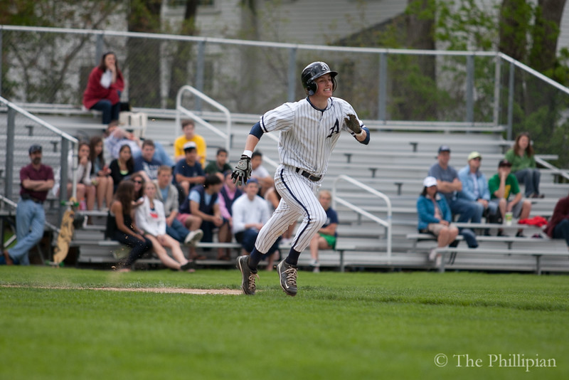 Boys Varsity Baseball competed in a double header against Phillips Exeter Academy on May 7, 2011. Andover lost 3-5, then won 7-0. (J. Qu/The Phillipian)