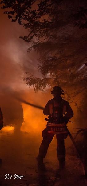 Mitchell Drive Fire