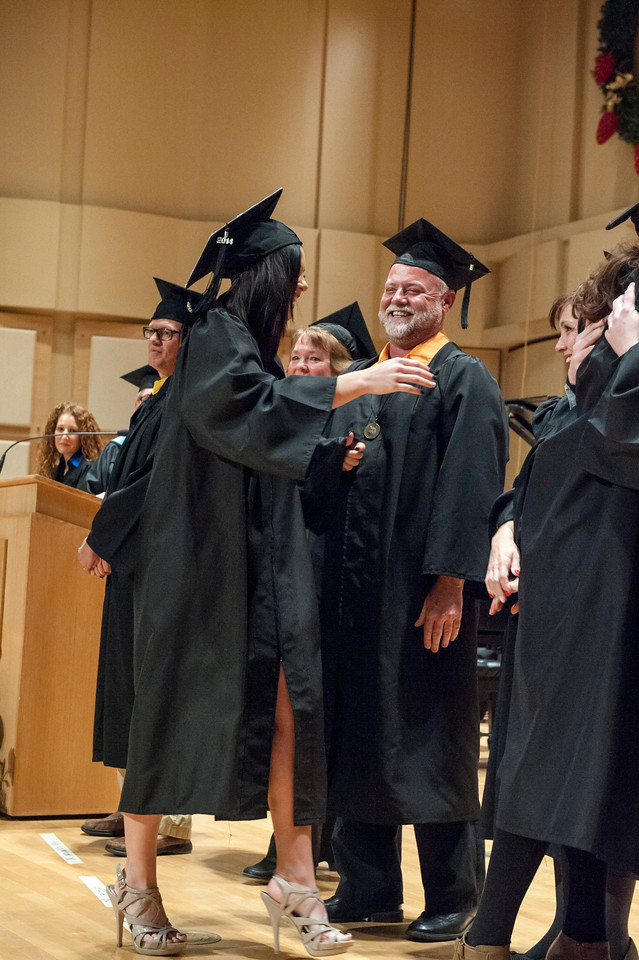 College of Technology Fall graduation