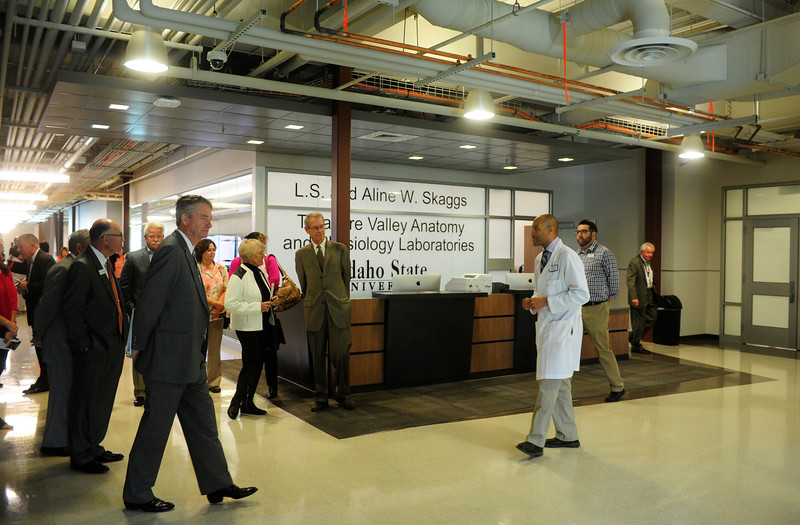 Grand Opening of the Anatomy and Physiology Lab in Meridian