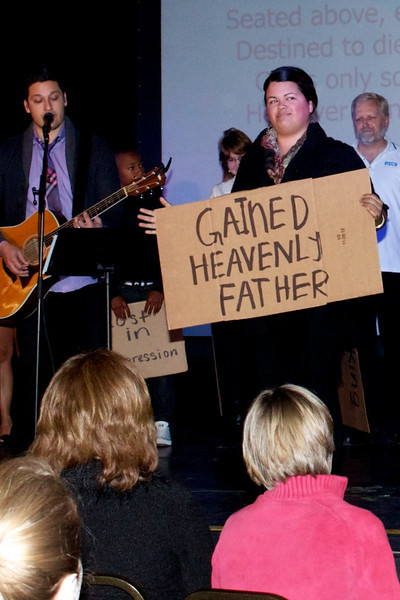 2012-12-24 Cardboard Testimony - Christmas Eve