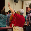 Huntington Beach Regional Ministry Services on Sunday May 11, 2014 at Ocean View HS, Photographer: Monica Collin
