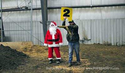 Santa at Switch Back 12/13/14