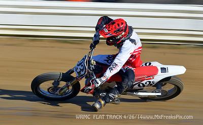 WRMC Flat Track  4/26/14
