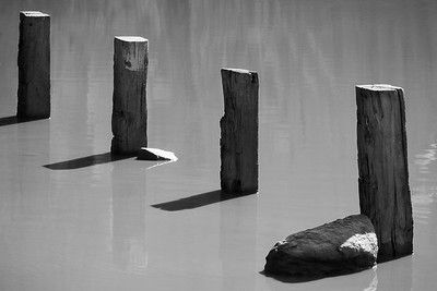 Four Posts in Water