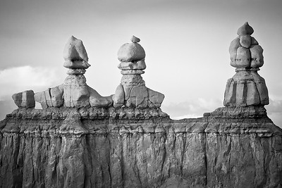 The Three Kings, Goblin Valley, Utah, USA